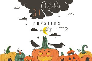 Halloween Monsters Night !