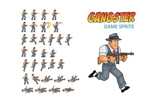 Gangster Game Sprite
