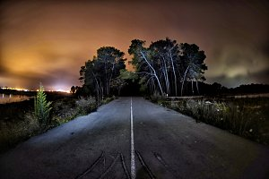 Road to the darkness