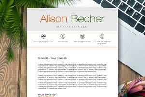 CV RESUME ALISON