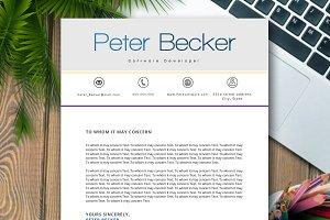 CV RESUME PETER