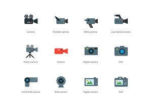 Camera color icons