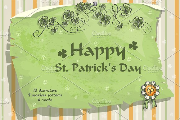 St. Patrick's Day - Illustrations