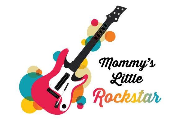 Mommy's Little Rockstar