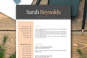 RESUME - CV SARAH
