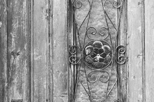 Ancient Door Detail