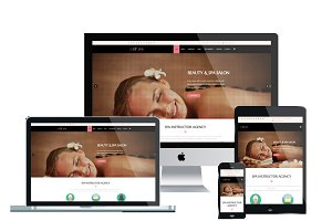 ET Spa – Spa Website Templates