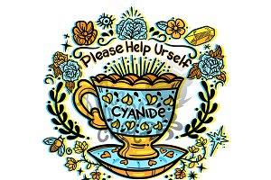 Cyanide Tea Cup