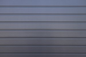 Dark Gray Painted Corrugated Wall