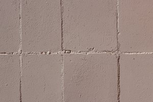 Beige Painted Tiles Wall Texture