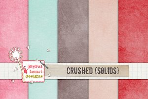 Crushed {solids}