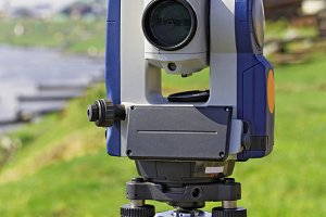 Modern electronic total station