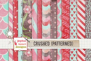 Crushed {patterned}