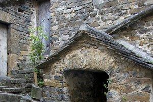 Old street.Huesca.Spain