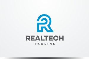 Realtech - Letter R Logo