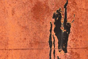 Rust Painted Wall Texture