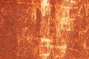 Rust White Paint Stains Wall Texture