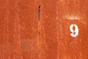 Rusty Painted Wall Texture. Number 9