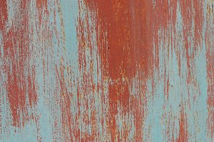 Red Painted Wall Texture.