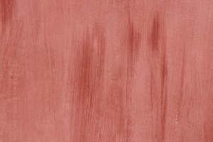 Old Weathered Red Painted Wall