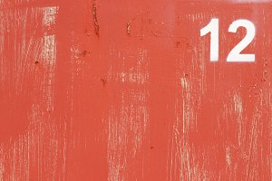Weathered Red Paint Wall texture