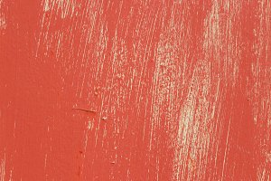 Out of Color red Painted Wall