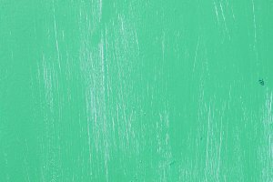 Weathered Turquoise Painted Wall