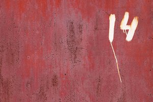Rusty Paint Wall Texture. Number 14