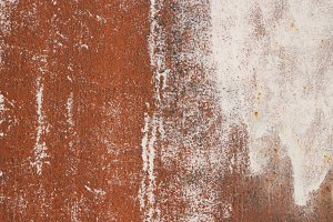 Rusty White Paint Wall Texture
