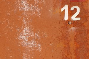 Rusty Paint Wall Texture. Number 12