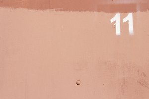 Rusty Paint Wall Texture. Number 11