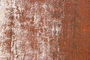 Rusty White Paint Gradients Wall