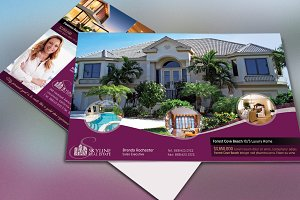 Real Estate EDDM Postcard Template