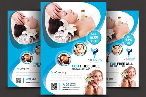 Beauty Salon Spa - Flyer Templates