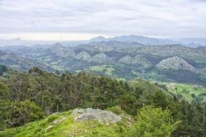 View of the Picos de Europa