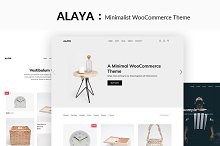 Alaya - A Minimalist Shop Theme by ThemeVan in Commerce