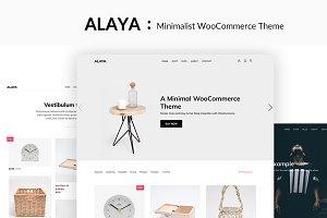 Alaya - A Minimalist Shop Theme