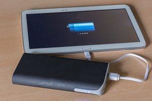 An external battery charging