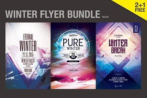 SALE% Winter Flyer Bundle Vol.1
