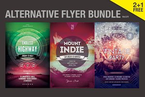 SALE% Alternative Flyer Bundle