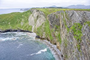 Cliffs in Asturias