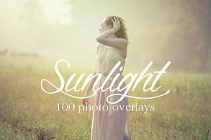 100 Natural Sunlight Photo Overlays