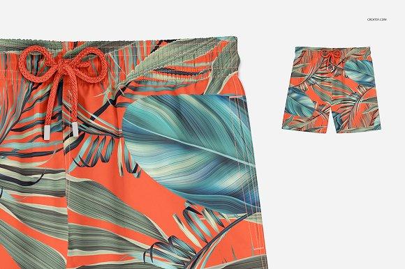 64ecb4ff8ed19 Swim Trunks Mockup Set ~ Product Mockups ~ Creative Market