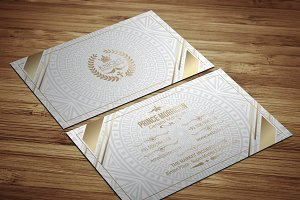 ELEAUGE  WHITE ELEGANT BUSINESS CARD