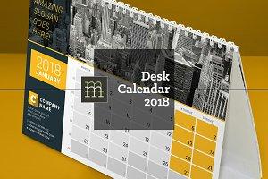 Desk Calendar 2018 (DC029-18)