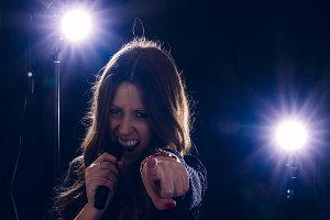 Rockstar girl