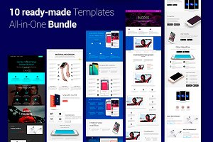 10 ready-made Bootstrap Templates