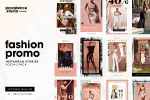 Fashion Promo IG Stories Pack