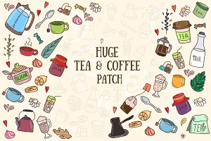 Huge Tea&Coffee Patch: mix&match
