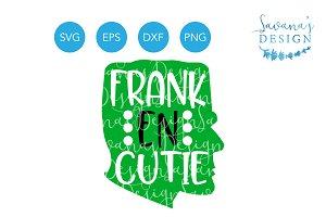 Franken Cutie SVG Frankenstein SVG